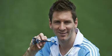 Messi neues Gillette-Werbegesicht