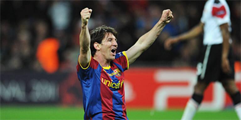 Messi mit neuem CL-Torrekord