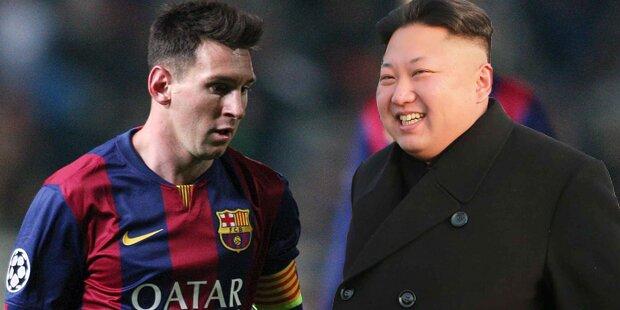 Irrer Kim will Lionel Messi holen