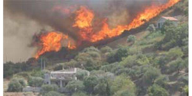 Drei Tote bei Waldbrand auf Sizilien
