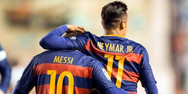 Brasilien vs Argentinien - Neymar vs Messi