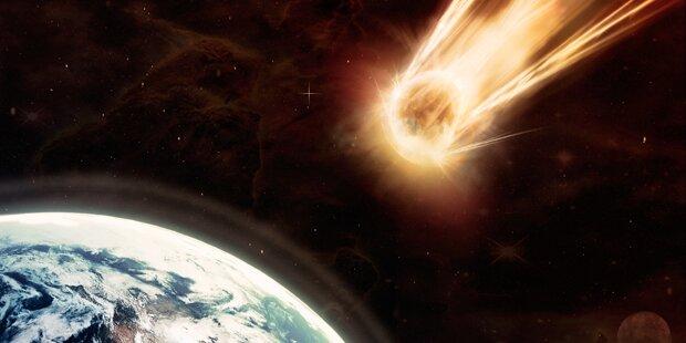 Millionentonnen TNT bei Meteoriteneinschlag freigesetzt