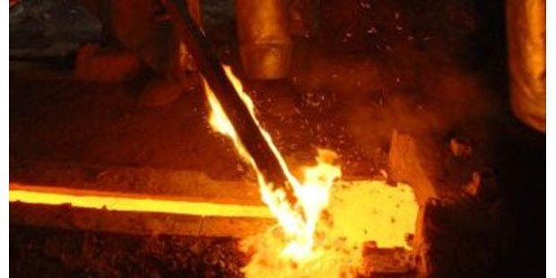 Arbeiter durch heißes Zink verletzt