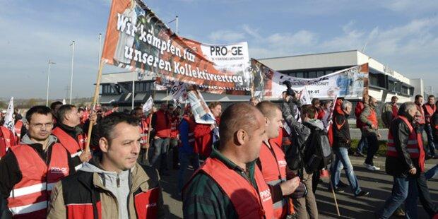 Streik kostet täglich 42 Mio.