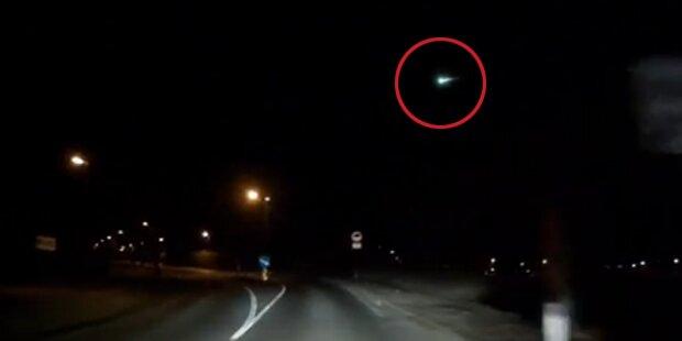 Video zeigt einen Meteoriten über Tirol