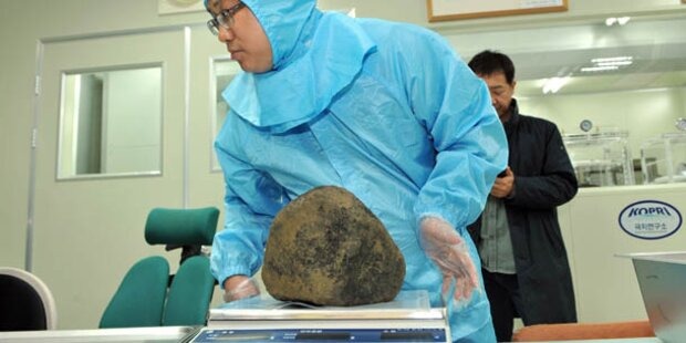 Meteoriteneinschlag in Südkorea