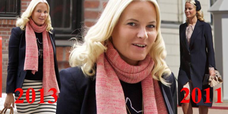 Mette-Marit: Endlich nicht mehr mager