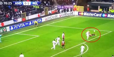 Mexes machte es wie Ibrahimovic