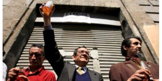 Proteste gegen Schließung ältester Bar Mexikos