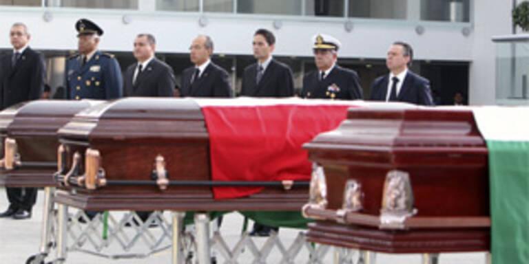 Alarmzustand nach Polizistenmorden in Mexiko