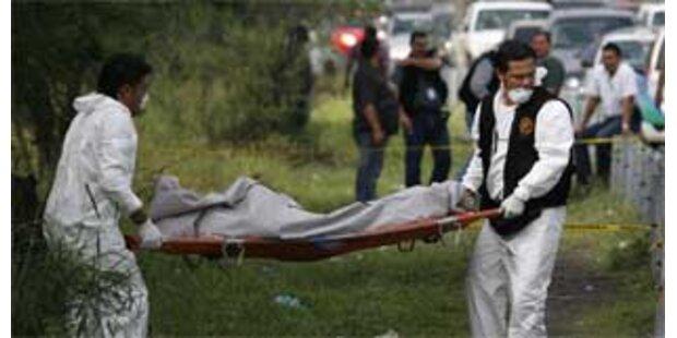 Sechs junge Männer in Mexiko erschossen