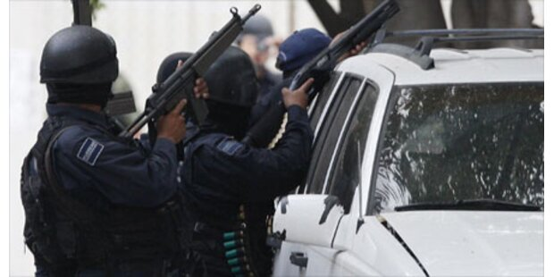 Acht Tote bei Überfall auf Bar in Mexico