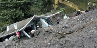 Erdrutsch im Osten Mexikos