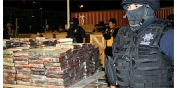 24 Tonnen Kokain in Mexiko beschlagnahmt