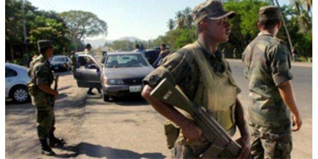 Wieder Tote im mexikanischen Drogenkrieg