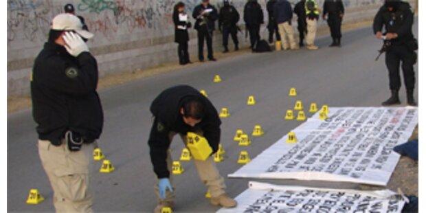 Sieben Leichen auf Sportplatz in Mexiko entdeckt