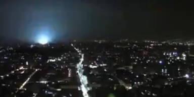 Mexiko: Explosionen durch Erdbeben