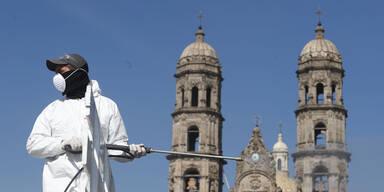 Mexiko: 8.400 Neuinfektionen an nur einem Tag