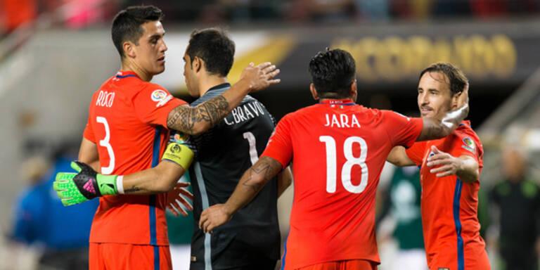 Halbfinale! Chile demütigt Mexiko