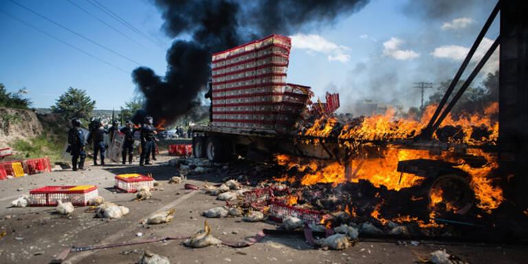 Lehrer gegen Polizisten: Sechs Tote