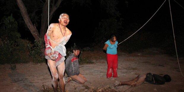 Aufgebrachter Mob will Dieb lynchen