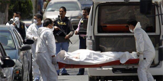 15 Tote bei Schießereien in Mexiko