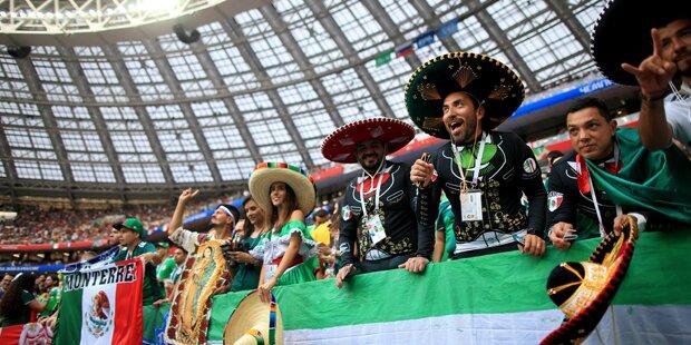 FIFA leitet Verfahren gegen Mexiko ein