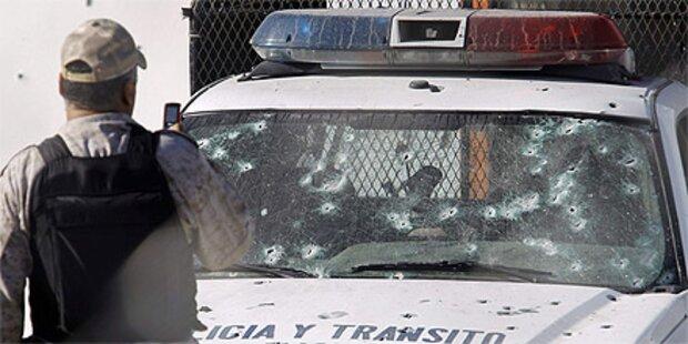 Mexiko: 9 Polizisten in Hinterhalt getötet