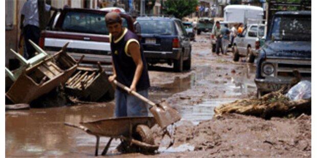 Überschwemmungen in Mexiko forderten Tote