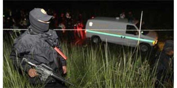 24 gefesselte Leichen in Mexiko entdeckt