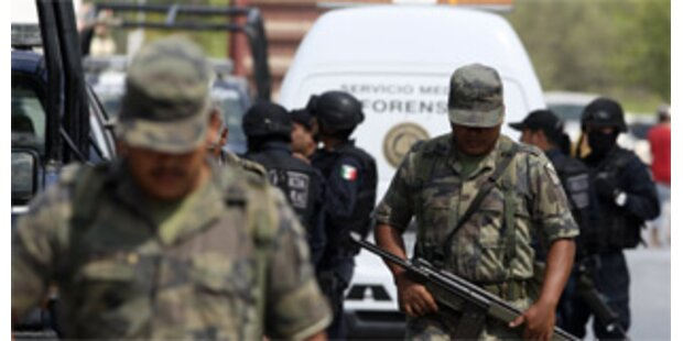 18 Tote im Mafia-Krieg in Mexiko