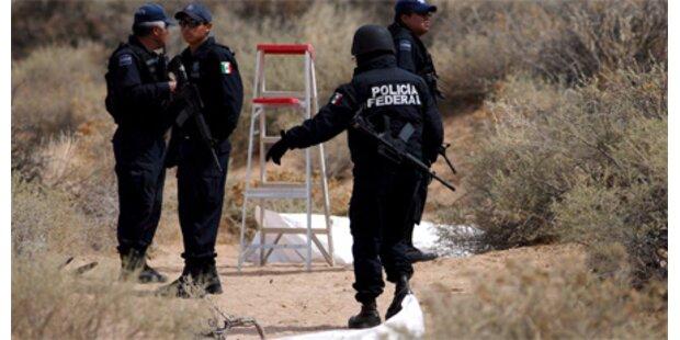 Zehn verscharrte Leichen gefunden