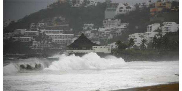 Erster Hurrikan vor der Küste von Mexiko