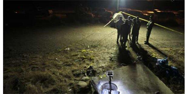 Verkohlte Leichen in Mexiko entdeckt