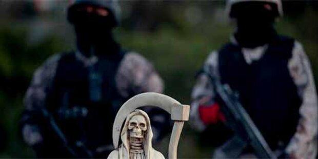 Drogenbanden greifen Kasernen in Mexiko an
