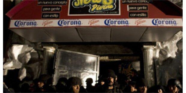 Zwölf Tote bei Massenpanik in mexikanischer Disco