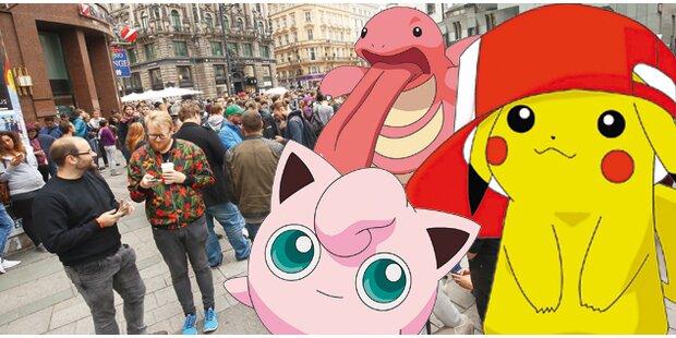 Seltenes Pokémon: Spieler blockierten die City