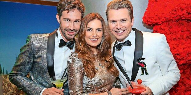 So feierten Austro-VIPs Silvester