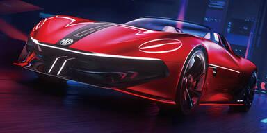 MG bringt wieder einen (Elektro-)Roadster