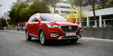 MG bringt neues SUV mit Plug-in-Hybrid