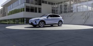 MGs fesches Elektro-SUV startet in Österreich