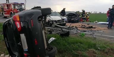 Horror-Crash in NÖ: Drei Schwerverletzte