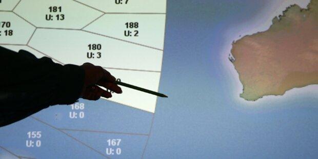 MH370: Suche wegen Schlechtwetter gestoppt
