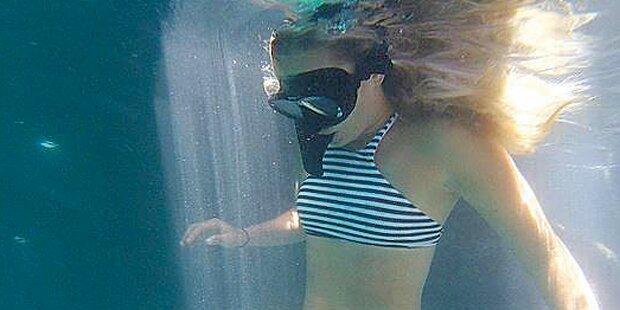 Lindsey Vonn geht baden