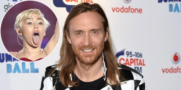 David Guetta: Neuer Hit für Miley Cyrus?