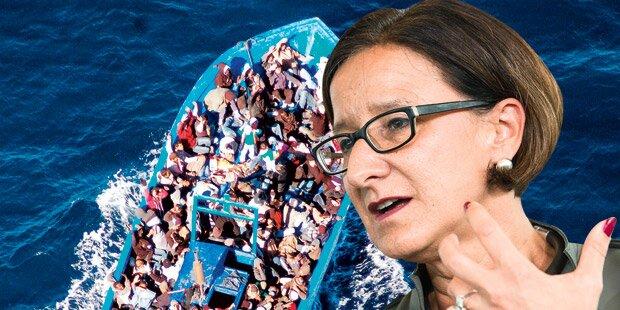 Bald 30.000 Flüchtlinge weniger