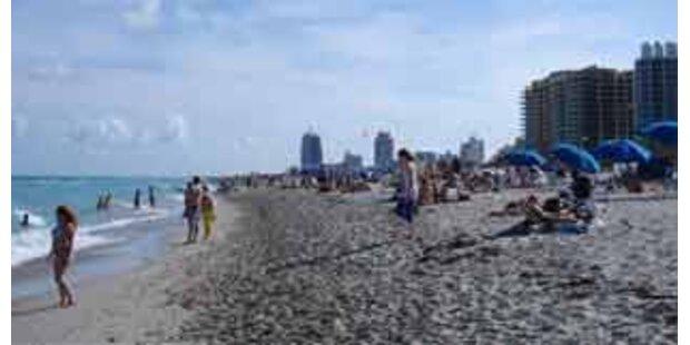 Bakterien-Alarm auf Miamis Stränden