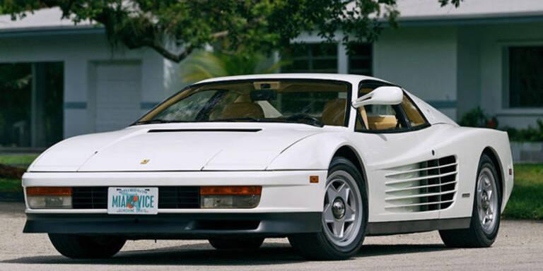 """Miami Vice""-Ferrari wird versteigert"