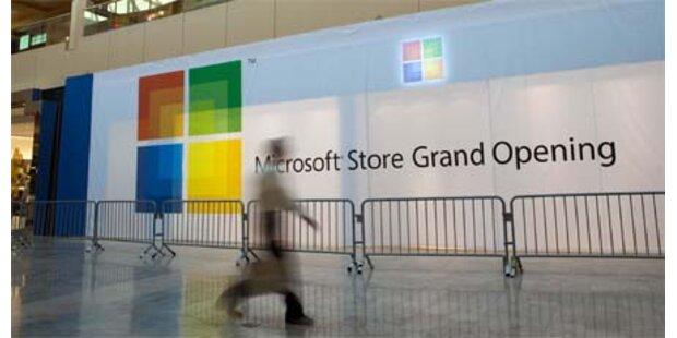 Microsoft eröffnete ersten Marken-Shop