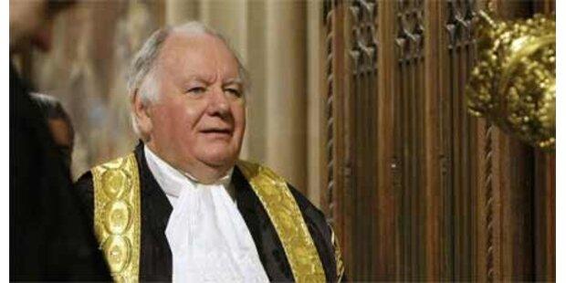 Unterhaus-Präsident in GB tritt zurück